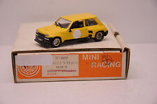 RENAULT 5 TURBO SALON 1978 ESSAIS MINI RACING 1/43 NEUVE EN BOITE MONTAGE PRO