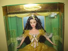Mattel Barbie Disney Beauty And The Beast BELLE - 1999 Doll Princess gown