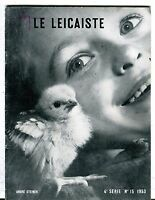 Le Leicaiste French Magazine No. 15 1953 Andre Steiner VG 040817nonjhe