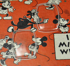 NOS Ingersoll Disney Mickey Mouse Wristwatch Crystal, 1937