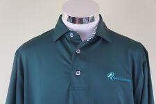 FootJoy Golf Polo Men's Short Sleeve Green Golf Shirt Size Medium Quest Control