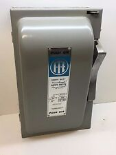 ITE Gould Vacu-Break NF352 Heavy Duty Safety Switch 60A 2/3Pole Non-Fusible 600V