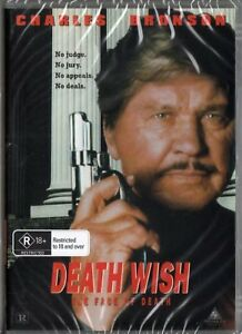 Death Wish 5 Face of Death Charles Bronson DVD New and Sealed Australian Release