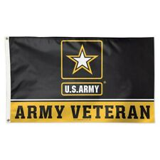New listing U.S. Army Army Veteran 3'X5' Deluxe Flag Brand New Wincraft