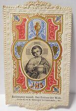 """Image religieuse ancienne """" Enfant Jésus """""""