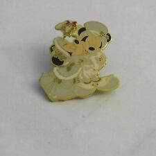 Disney Mickey and Minnie Christmas Kiss Pin