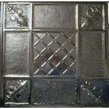 #114-Tin Ceiling Tiles - Unfinished - Nailup, 5 pcs per box