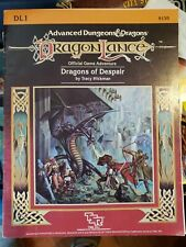 AD&D Dragons of Despair Adventure Module - Dragonlance
