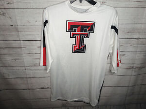 UNDER ARMOUR MEN'S SZ 2XL COMPRESSION TEXAS TECH RAIDERS SHIRT NWOT