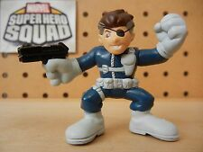 Marvel Super Hero Squad RARE NICK FURY (Classic Comic Version) from Wave 10