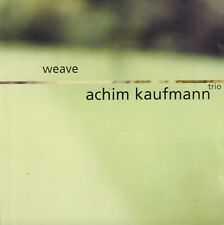 ACHIM KAUFMAN TRIO ‎– WEAVE (1998 FREE IMPROVISATION JAZZ CD)