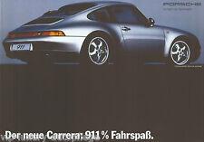 Porsche Poster 911 Coupe Typ 993 Reprint 2013 Größe: 42 x 59,5 cm