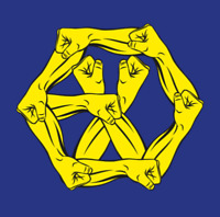 "K-POP EXO Album ""THE WAR: The Power of Music"" [ 1 Photobook + 1 CD ] KOR Ver"