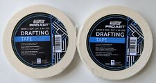 """TWO Pro Art Drafting Tape 3/4"""" x 60 Yards Each = 120 Yards Total"""
