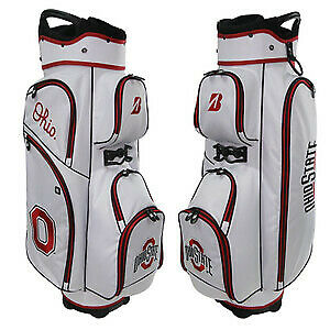 Bridgestone P921OS NCAA Golf Cart Bag Ohio State White/Red/Black