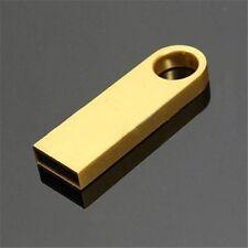16GB Metal USB Flash Memory Drive Stick Pen Storage Thumb Key Cute U Disk GOLD