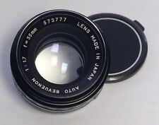 M42 Auto Revuenon Vintage Prime Lens 55mm f/1.7 for Pentax Mamiya Zenit Japan