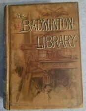 1906 Badminton Library SWIMMING Sinclair & Henry