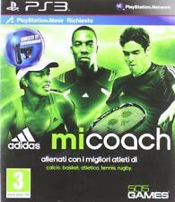 Adidas Mi-coach Ps3 Playstation 3 505 Games