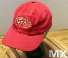MONTANA RAIL LINK MRL HAT RED STRETCH FIT OSFA IN VERY GOOD CONDITION