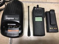 MOTOROLA XTS1500 700 800mhz P25 Digital Radio H66UCD9PW5BN  FULL FEATURE FLASH!