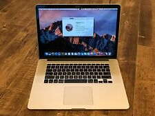 "Apple MacBook Pro Retina 15"" Mid 2012 Intel Core i7 2.7GHz 16GB 512GB SSD A1398"