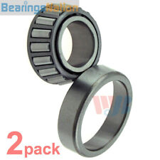 2x Front Wheel Bearing and Race Tapered Roller Bearing WTA3 Cross A-3 M12649 BR3