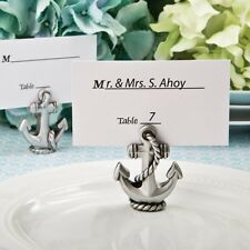 50 Nautical Anchor Beach Place Card & Photo Holder Shower Party Favors