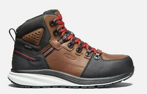 Keen 'Red Hook Mid' Men's WP EH Safety Toe Oil/Slip Resistant Work Boot 1024576