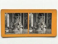 Roma Interno Da St.Pierre Tomba Da Georges XIII Italia Foto Stereo Vintage