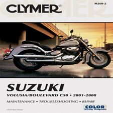 Clymer Manuals Suzuki Volusia/Boulevard C50 2001-2011 M260-3 70-0260 4201-0155