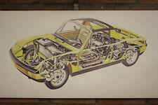 PORSCHE 914 PVC grande lavoro Negozio Banner Garage CAR SHOW Banner