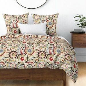 Desert Palette Walkabout Dreamtime Indigenous Sateen Duvet Cover by Roostery