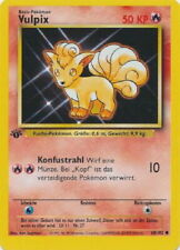 POKEMON Card BASE SET 1st Edition German VULPIX #68/102 Common MINT