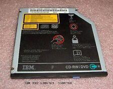 IBM Thinkpad T42 CD-RW DVD-Rom Drive Model: GCC-4242N FRU:13N6769 P/N:13N6768