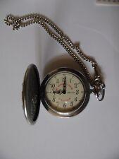 MOLNIJA Russische Sprungdeckel Taschenuhr, Uhr,Handaufzug