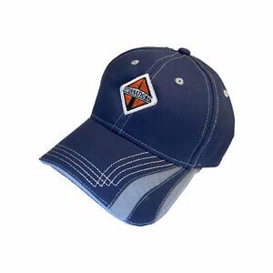 International Trucks Cap - Reflective Safety Stripe Navy Blue Embroidered Hat