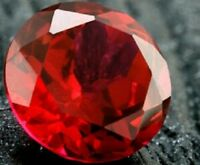 Diamond Brilliant Round Cut Loose Natural Ruby 7mm Jewelry Gemstone