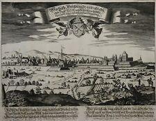 Rom - Warhafte abbildung der unvergleichlichen Statt Rom - Funck 1690 - Scarce