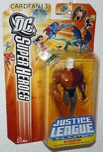 "2006 MATTEL DC SUPER HEROES JUSTICE LEAGUE UNLIMITED METAMORPHO 4"" FIGURE RARE"