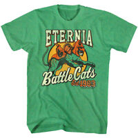 Masters of the Universe Eternia Battle Cats 1983 Men's T Shirt He-Man Cringer