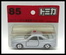 TOMICA #85 NISSAN SKYLINE GT-R R33 INVESTIGATION CAR 1/60 TOMY DIECAST CAR NEW