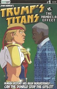 DONALD TRUMP - TRUMP'S TITANS VS. THE MANDELA EFFECT #1 FEB 2018 COVER A