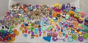 104pc LPS Littlest Pet Shop Pets + TONS Of Accessories - Over 300pcs TOTAL!!