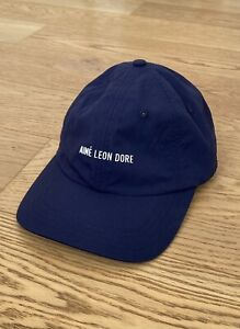 Aime Leon Dore Nylon Sport Cap Hat Navy