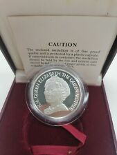 Willie: 85th Birthday of Queen Elizabeth Silver Proof Medallion