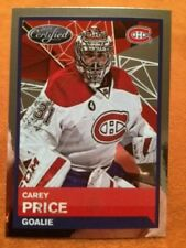 #96 Carey Price Foil Canadiens 2015-16 Panini 15-16 NHL Hockey Donruss Stickers
