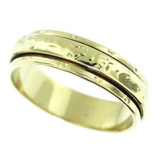 Moving Center Wheel No Stone Gold EP Ladies Classic Eternity Ring Size 10