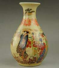 Chinese porcelain collection handmade ancient beauty figure vase