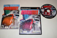 Burnout Sony Playstation 2 PS2 Video Game Complete